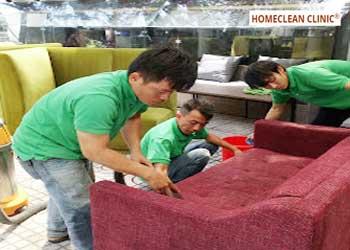 Dịch vụ giặt ghế Sofa vải bố