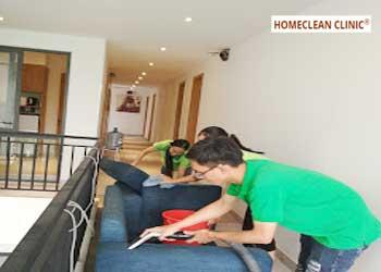 dịch vụ giặt ghế sofa vải nỉ tại nhà