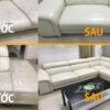 Nhuộm, sơn, sửa ghế sofa da cũ bạc màu