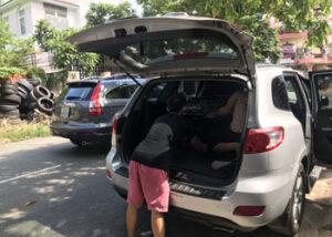 phục hồi nhựa nội thất ô tô