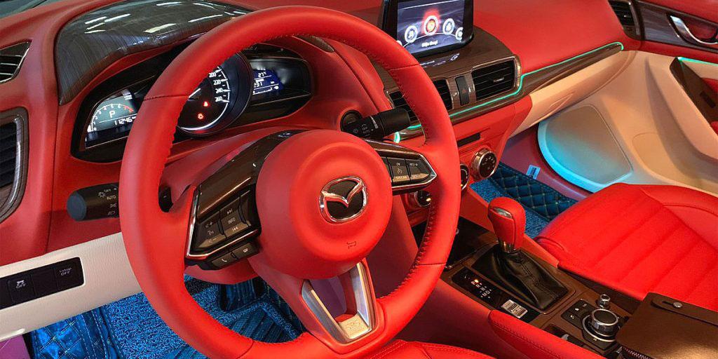 đổi màu nội thất ô tô tphcm