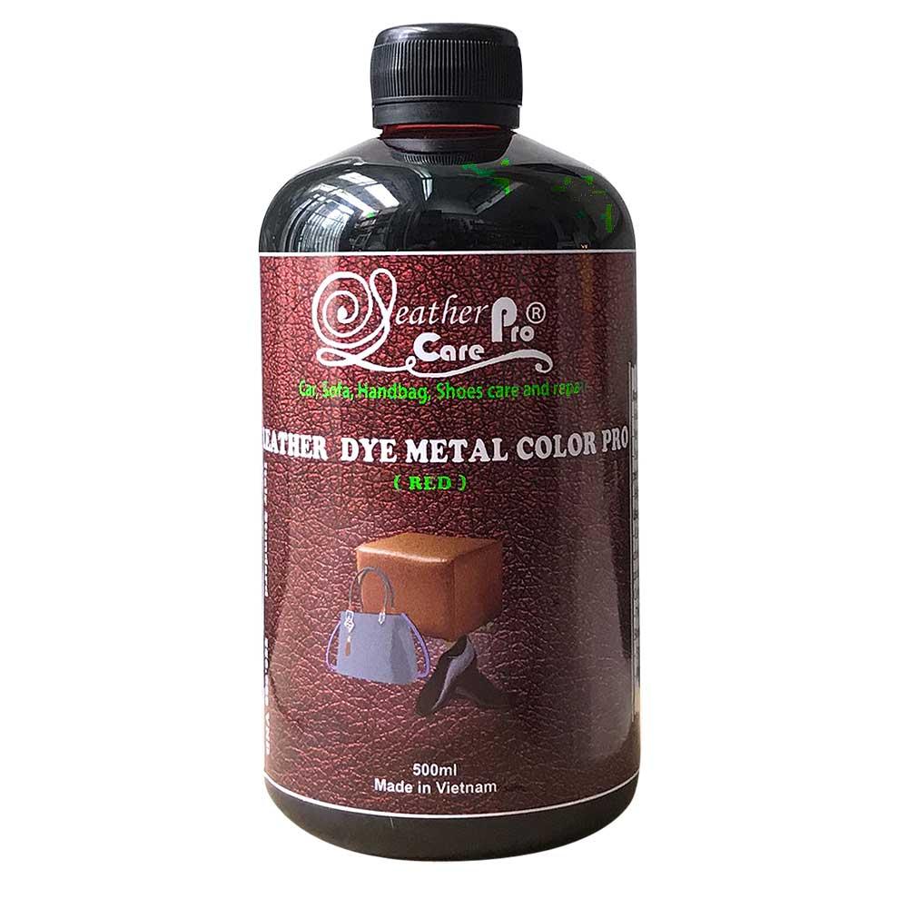 Thuốc nhuộm da bò, màu nhuộm da bò – Leather Dye Metal Color Pro (Red)